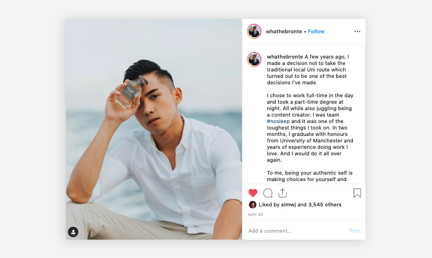 abercombie and fitch project influencer instagram by mediatropy digital agency
