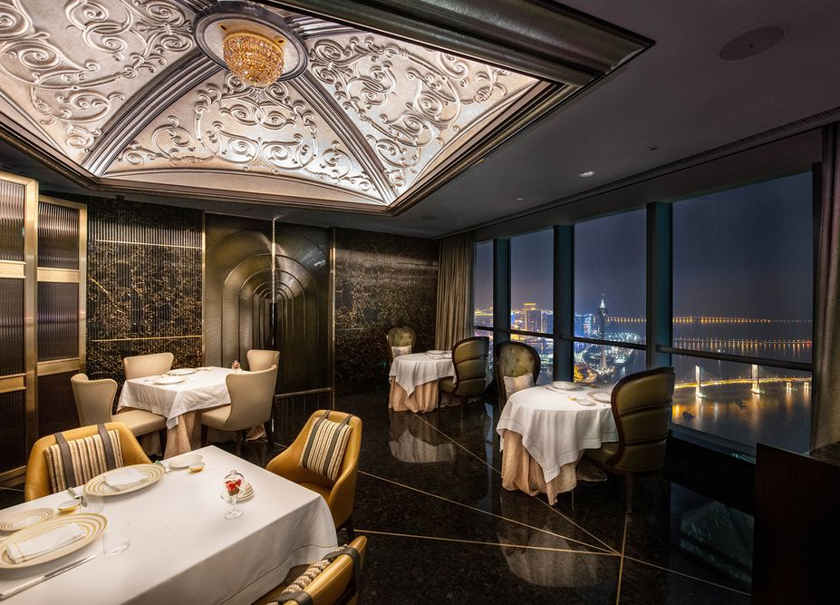 st regis zhuhai restaurant table photograph taken by mediatropy agency